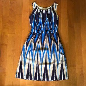 Banana Republic Boho Blue Dress Size 2